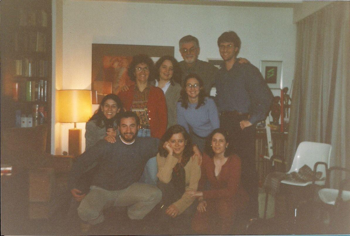 Mi grupo de Formación en Técnicas de Grupo y Psicodrama (1999-2003)