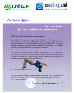 Curso Psicodrama Gijón